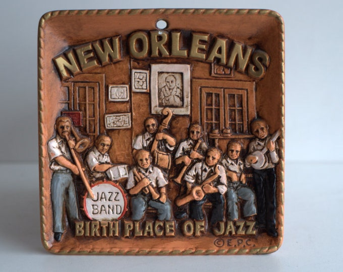 New Orleans Jazz band wall decoration