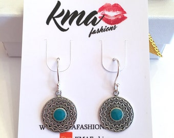 Sterling Silver Earrings Drop Earrings Women's Accessories Gifts for Her Valentines Gifts Mothers Day Fashion Accessories Fashion Earrings