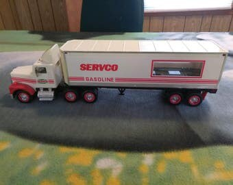 Vintage Servco 18 Wheeler Hauler Battery Powered