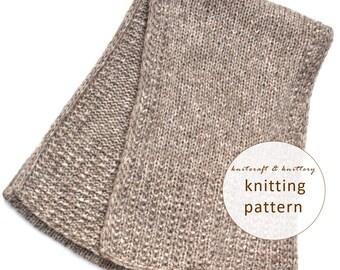 PDF Knitting Pattern - Wildflower Cowl, Scarf Knitting Pattern, Knit Snood In...