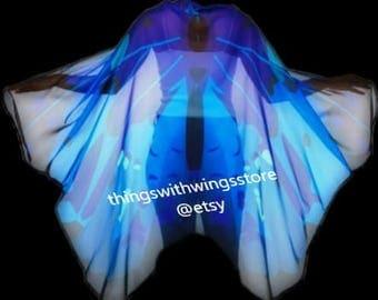 Striking Blue Beetle Inspired wings