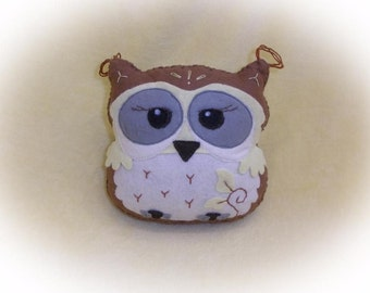 Toy Owl With Developmental felt handmade gift Children's favorite animal Resident Forest Girl Boy Design Decor Owl Plush Felt Toy Felt Plush