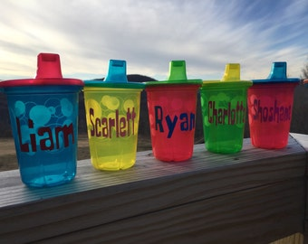 Personalized Sippy Cups | Customized | Grandma's House | Special Sippy