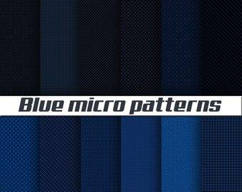 blue digital paper, blue scrapbook patterns, background