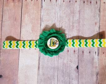 Baby girl Oregon headband-Oregon baby headband-oregon ducks for baby girl-Ducks for baby girl-Oregon headband for infant-Oregon for toddler