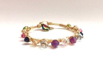 Lily Multi Spike Bracelet