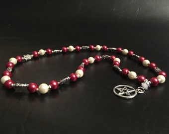 Pagan Prayer Beads - Athena/Minerva Prayer Beads