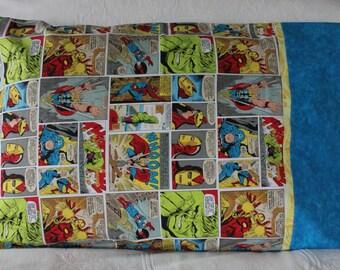 Avengers Comic Pillowcase