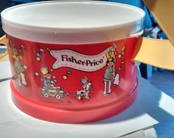 Vintage 1979 Fisher Price Drum