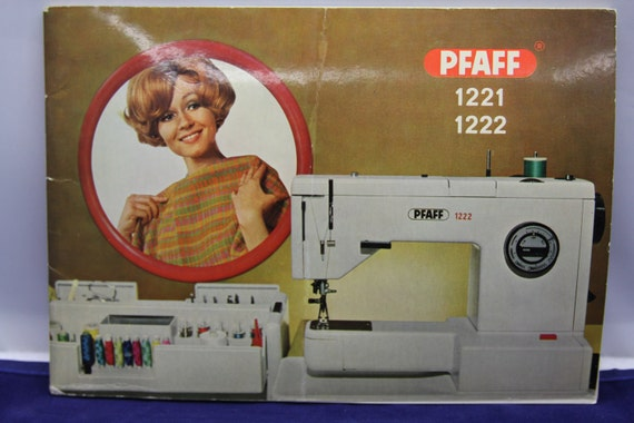 pfaff sewing machine manual 1222
