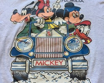 Mickey Mouse disney florida Tshirt Tee T 80s 90s