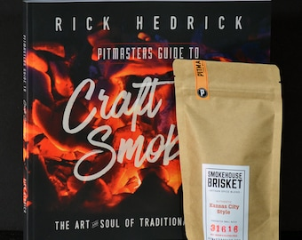 Pitmasters Guide to Craft Smoking AND Traditional Smokehouse Brisket Seasoning