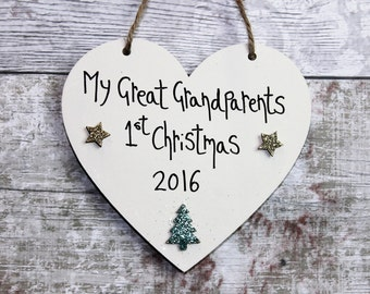 Great Grandparents Gift - Grandparent gift - Gifts for Grandad -Gift for Grandad -grandparent keepsakes -Christmas Gifts -Great Grandparent