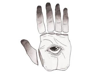 The Hand - Print