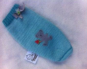 "Sweater for a dog (puppy) or a cat (kitten) ""Bear with ice cream"""