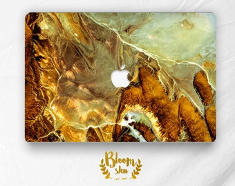 Brown and nacre marble texture macbook sticker macbook decal macbook skin keyboard decal skin macbook air 11/13 pro/retina 12/13/15 BS037