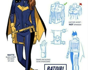 Batgirl costume/ cosplay redesign