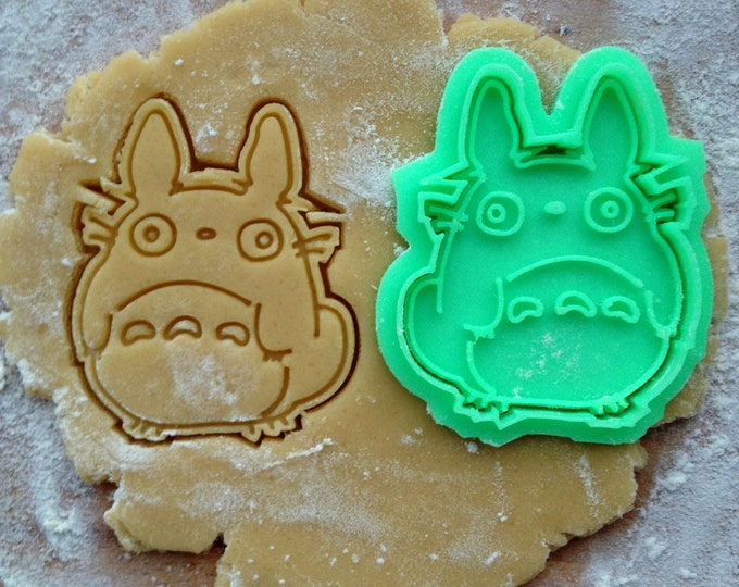 O-Totoro cookie cutter. Studio Ghibli cookies. My Neighbor Totoro cookie stamp