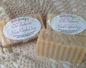 Free Shipping - Unscented Goats Milk Soap! Homemade