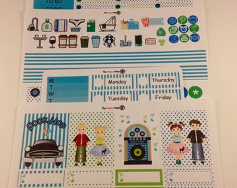 Sock Hop personal planner kit