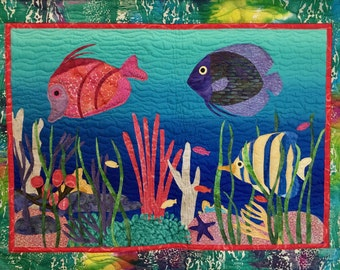 Sea Life quilt pattern
