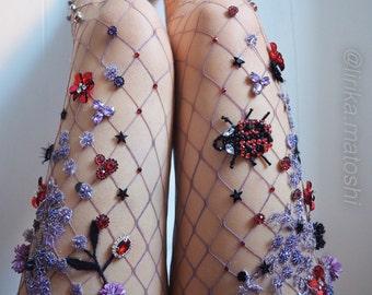 Ladybird Fishnets