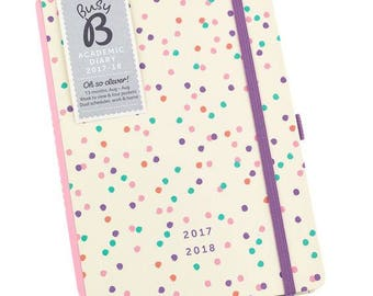 ACADEMIC DIARY 17/18,mid year diary,18 month Planner