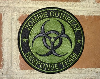 Zombie Outbreak Response Team -  Badge Morale/Tactical Velcro Patch