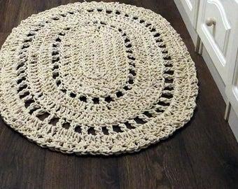 Large Crochet Rugs Etsy