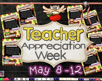 Teacher Appreciation Week Gift-Female Teachers-Rhyming Letters-Teacher Card-Owl Themed-Teacher Thank You Note-Kid's Printable-For School