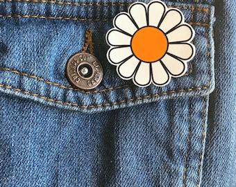 Daisy pin cute pin brooch cute daisy items mothers day gift holiday gift