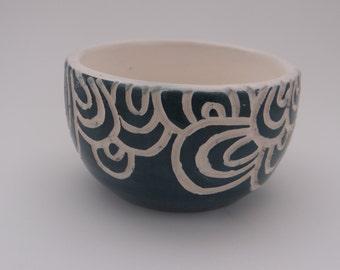 Sgraffito cup