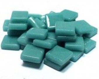 12mm Mosaic Craft Tiles - Mint Green Gloss - 50g