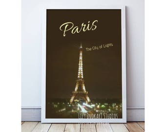 Paris fashion poster prints