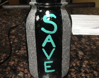 Mason Jar Change Holder