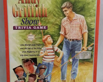 The Andy Griffith Show Trivia Game 1.000 Authentic Show Trivia Questions by Talicor - Complete
