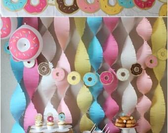 Custom Donut Banner