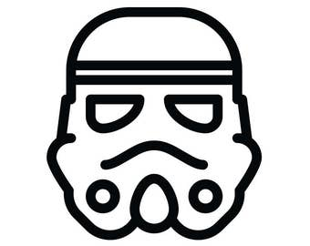 Stormtrooper Decal Star Wars Themed Decal