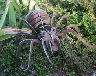 Metal Garden Wildlife  - Spider
