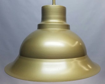 Aluminum Dome Pendant Lighting Fixture (Made in USA)