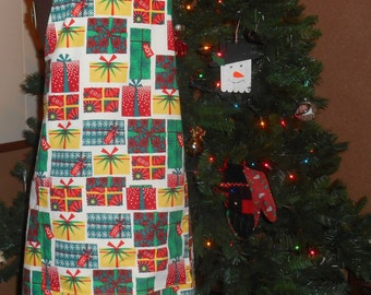 Apron--Adult Christmas Gift Box