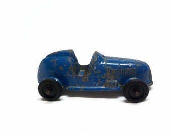 Vintage Tootsie Derby Car - Vintage Diecast Toy Car - Tootise Derby Car - Vintage Soapbox Toy Car - Tootsie Toy - Collector Car - Derby Car