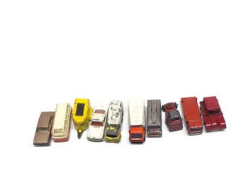 Vintage Matchbox Cars - Lot of 10 - Diecast Toy Cars - Vintage Diecast Cars - Vintage Set of Matchbox Cars -  Vintage Toy Cars