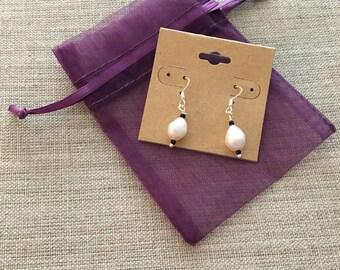 Pearl Beaded Drop and Dangle Earing