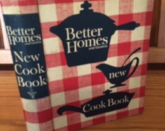 Better Homes and Gardens NEW COOK BOOK 5 Ring Binder 1953-65