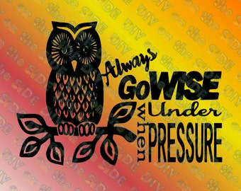 SVG Cut File Pressure Cooker GoWise Owl Instant Download