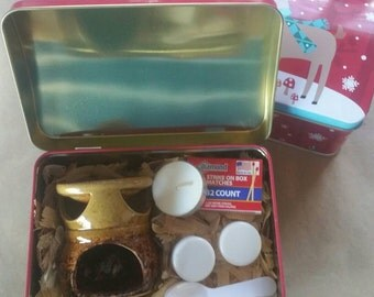 Oil warmer kit with 4 scents **on sale reduced price**