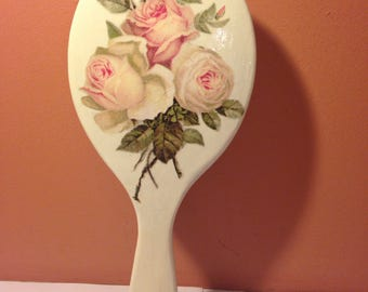 Made in wooden hair brush.