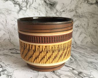 Mid Century Ceramic Pot