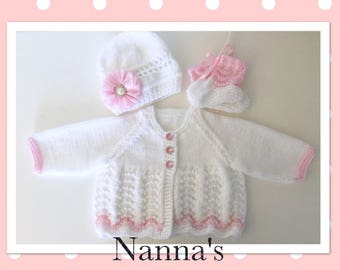 Hand Knitted by Nanna exclusive knitted items. Made to order in baby sizes.
